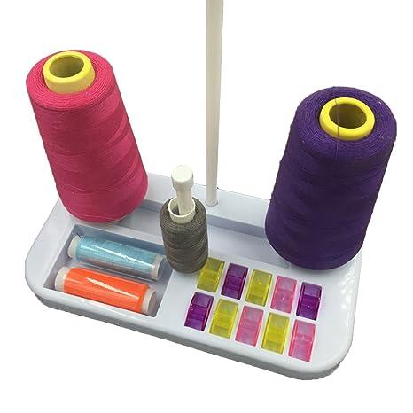 joyliveCY Soporte de bobina de hilo de bordar de coser accesorios