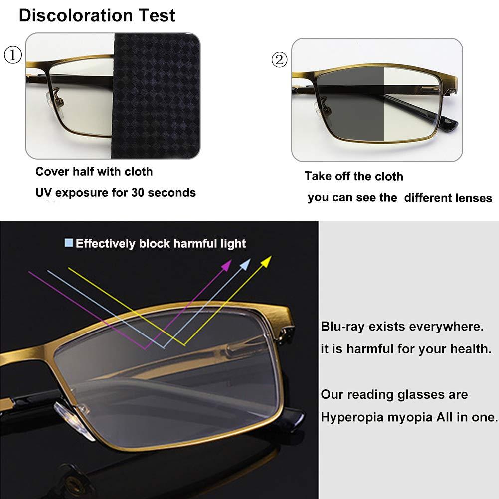 Amazon.com: Hejia - Gafas de lectura con zoom automático y ...