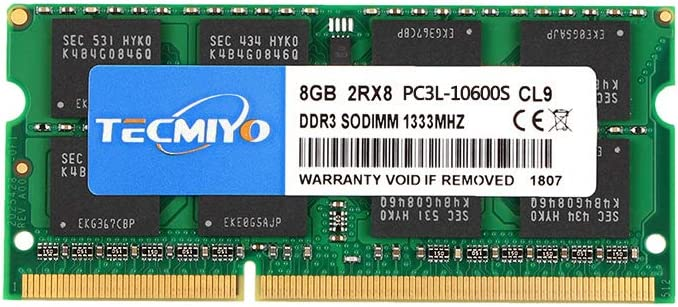 US 8GB 2x4GB PC3-10600S DDR3 1333 204pin Sodimm CL9 NON ECC Laptop Memory Module