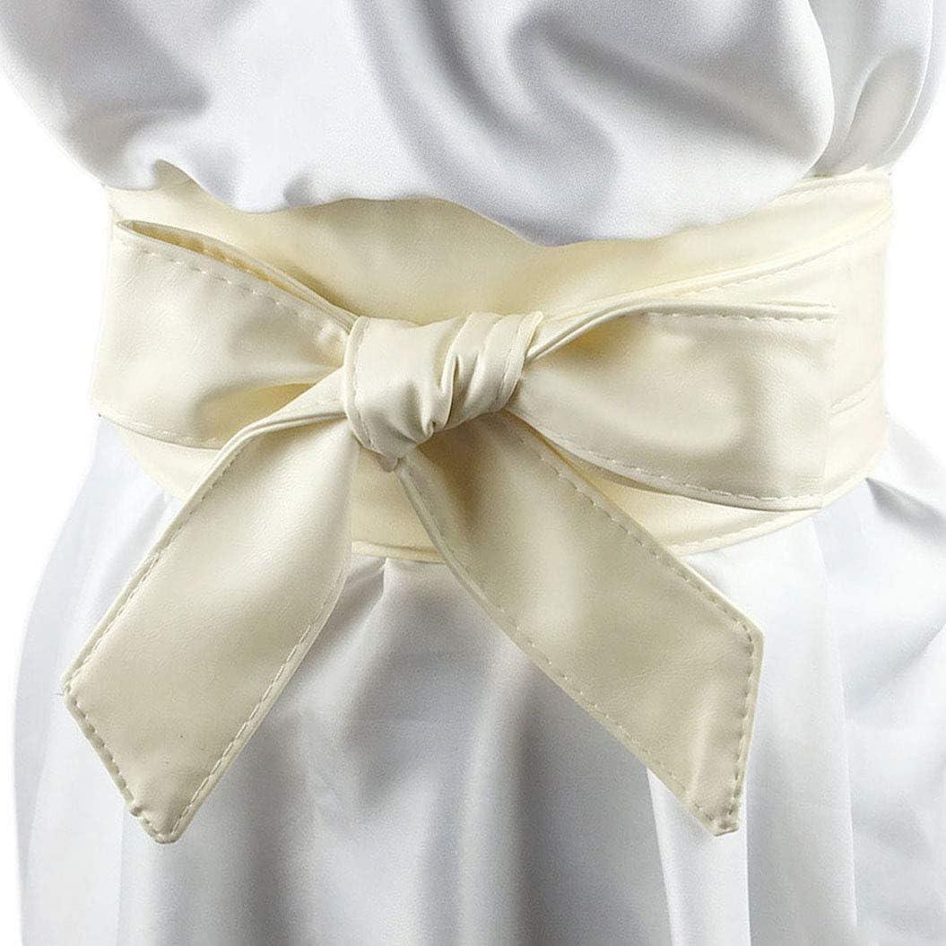 Nanxson(TM) Señoras PU cuero listo lazo moderno cinturón suave cintura correa PDW0009