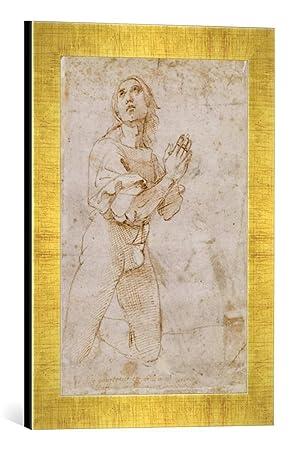 Kunst Fur Alle Encadre Image De Raphael Figurine Etude D Un Jeune