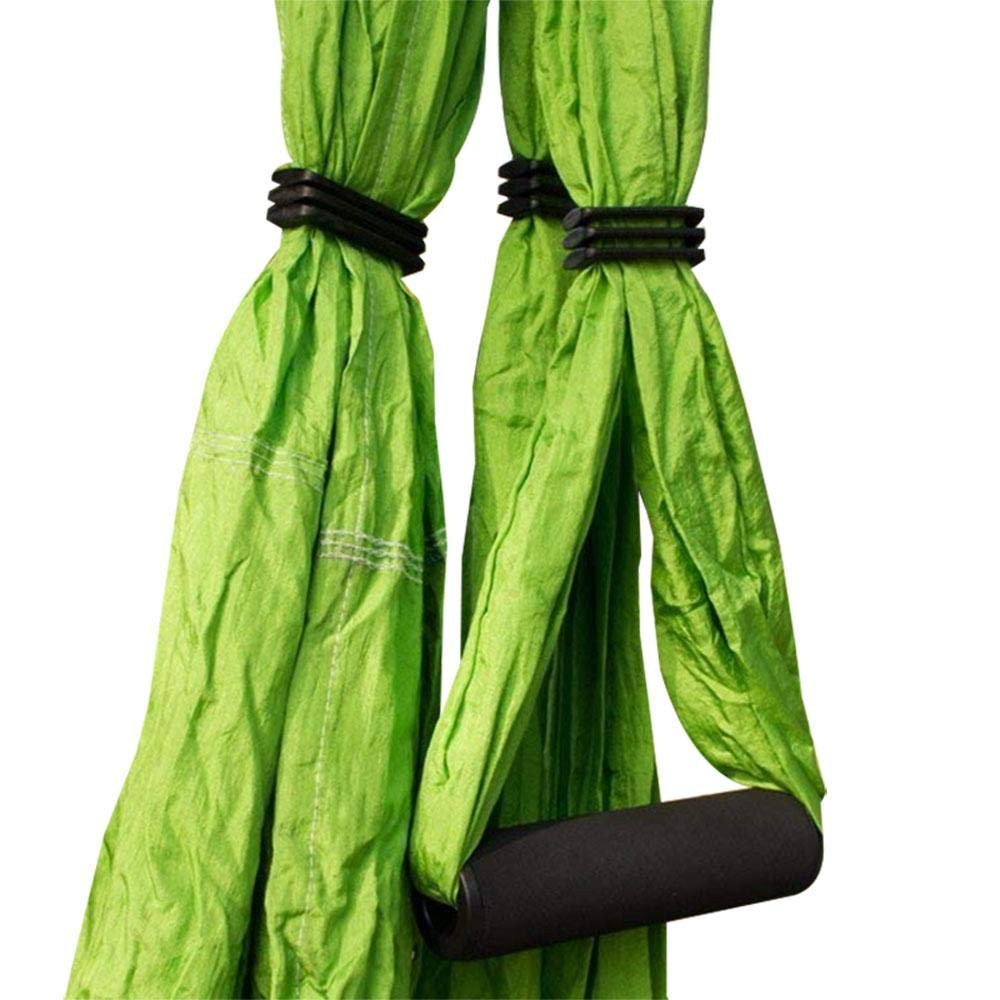 Pawaca Aerial Yoga Swing,Ultra Strong Yoga Hammock With Parachute Fabric And Handles,Aerial Trapeze Kit,Large Inversion Air Fly Sling Set,Hammock//Trapeze for Indoor and Outdoor with Health