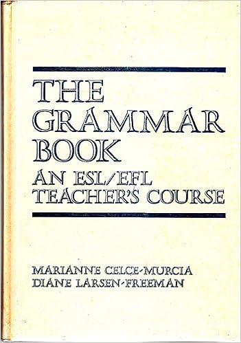 The Grammar Book Celce Murcia