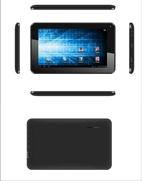 Storex eZee Tab707 - Tablet de 7 pulgadas (Android 4.1.2, 4 GB, wifi, 1.2 GHz), color negro: Amazon.es: Informática