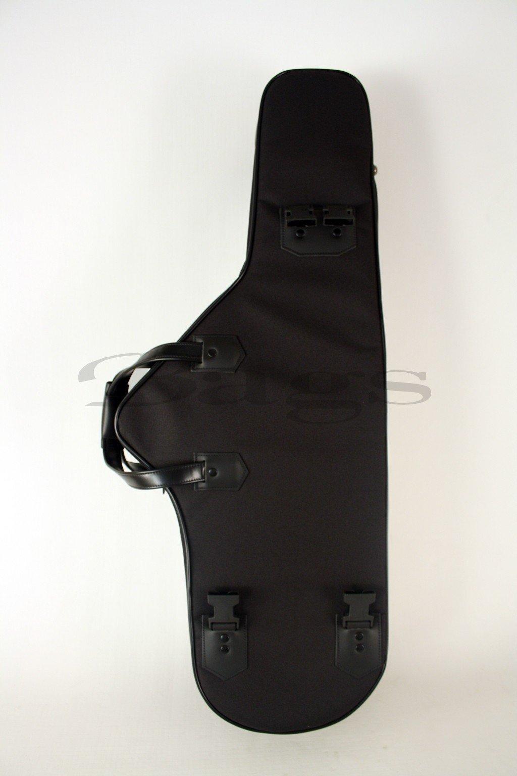 ESTUCHE SAXOFON TENOR - Bags (30407) Confort con Forma (Mochila Bolsillo Asa y Bandolera) Negro