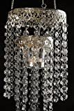 Dexon Power Crystal Candle Holder Chandelier 24in