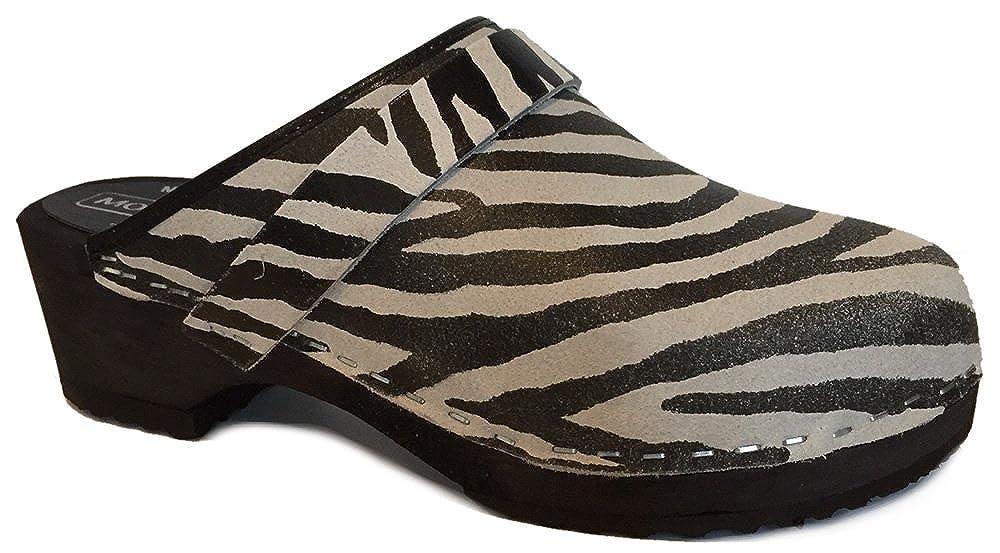 Moheda Lena 'Schwedisch Clogs - Zebra  | Online Outlet Shop  | Hochwertig  | Die Qualität Und Die Verbraucher Zunächst