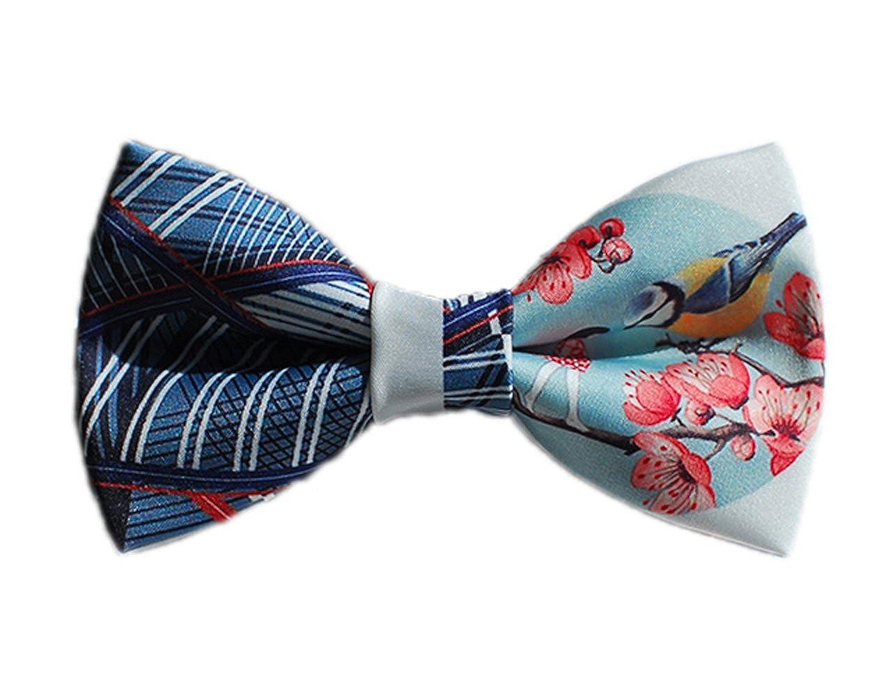 Dise?o De Corbata Urraca Estampados Textiles Manual Corbata (Azul ...