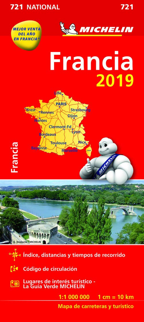Mapa National Francia (Mapas National Michelin)