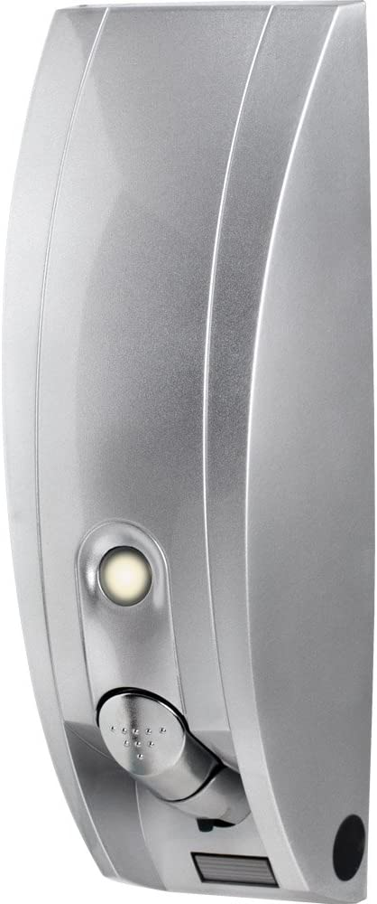 Silver Gloss Better Living Products International Inc Better Living Products 81134 Curve 1-Chamber Soap and Shower Dispenser