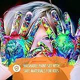 24 Watercolor Paint Set for Kids - 24 Units Bulk