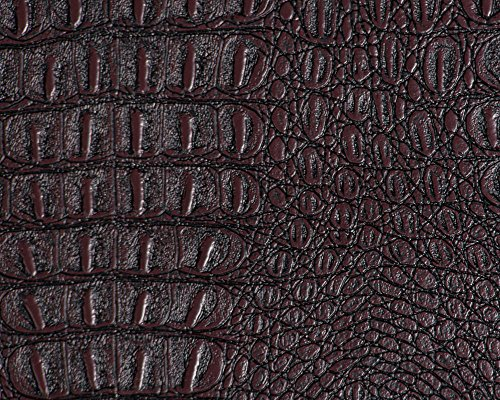 (Alligator Prints Fabric Vinyl Faux Leather Animal Skin Upholstery 54
