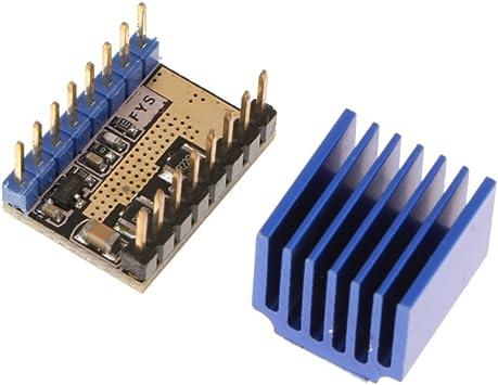MagiDeal Módulo de Controlador Impresora 3D Lv8729 Motor de 4 ...