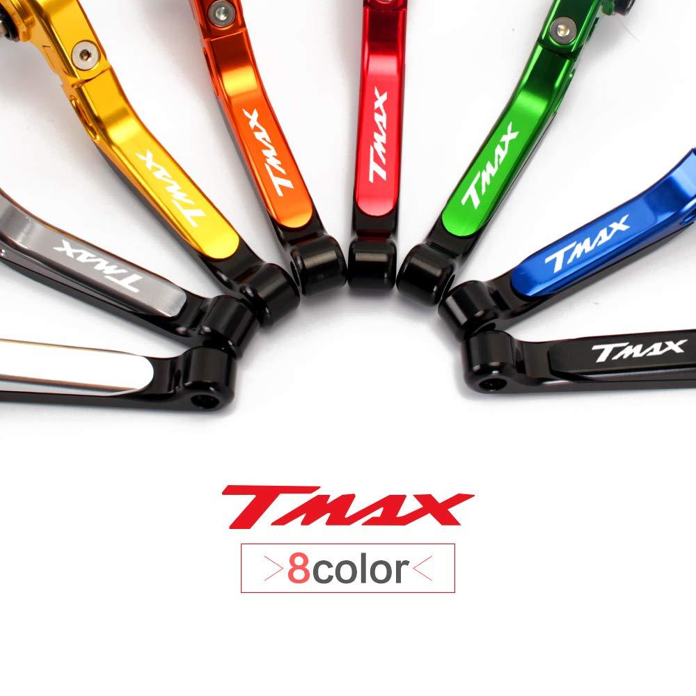 Set leve freno in alluminio Regolabile titanio Per Yamaha TMAX 500 TMAX 530 2012-2017 2018 dx sx
