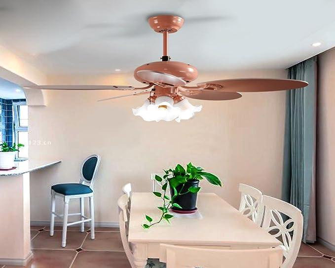 Illuminazione Soggiorno Pranzo : Sdkky pastorale camera da letto sala da pranzo fan luce camera