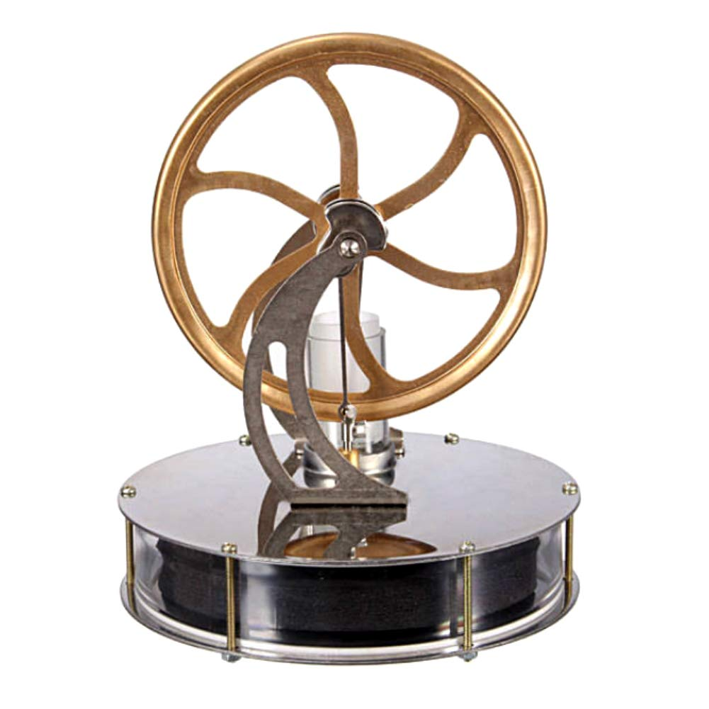 At27clekca Low Temperature Stirling Engine Model Steam Machine Science Educational Toy Electricity Generator
