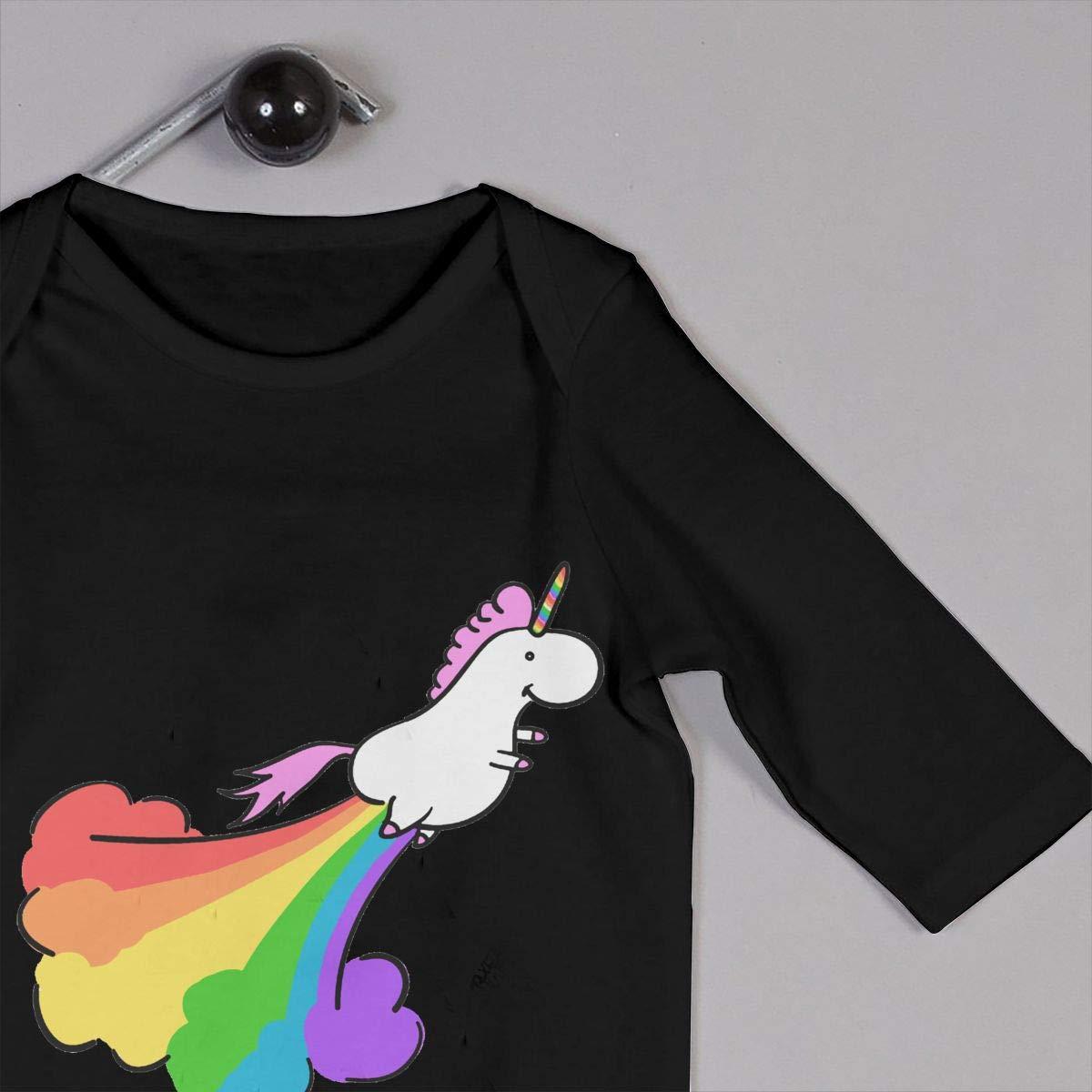 Fart Rainbow Unicorn Unisex Baby Bodysuit Onesie Baby Clothes