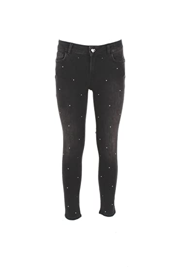 pretty nice b5071 09776 Jeans Donna Twin-set 27 Nero Ya72x1 Autunno Inverno 2017/18 ...