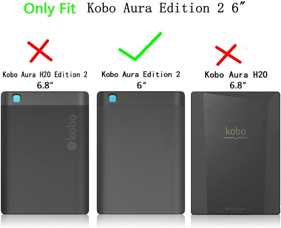 Kepuch Custer Funda para Kobo Aura Edition 2,Slim Smart Cover ...