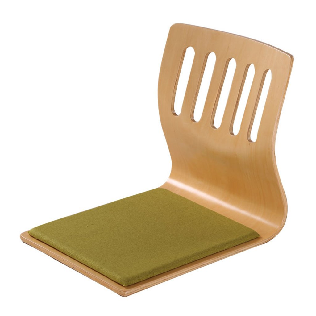 Unbekannt Bodenstuhl Portable Floor Stühle Holz, Sommer Mädchen Teen Gaming Reading Chairs für Schlafzimmer Klassenzimmer