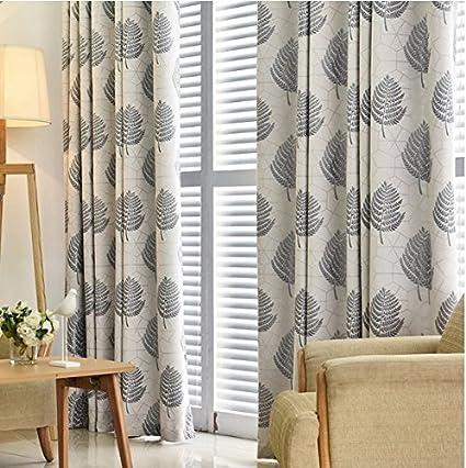 Soggiorno tende tende camera da letto Punzonatura Curtain addensante ...