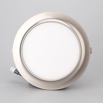 Splindg Downlight empotrable LED Lámpara ultraplana Redonda ...