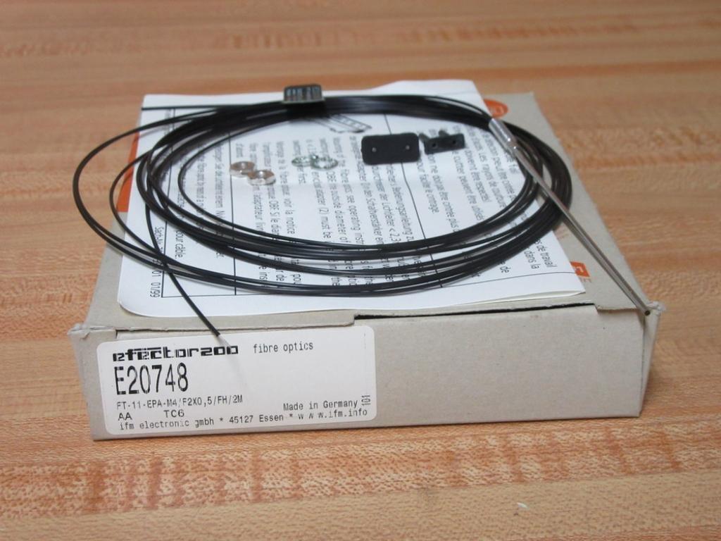 IFM Efector FT-11-EPA-M4/F2X0, 5/FH/2M Fiber Optic Sensor E20748: Amazon.com: Industrial & Scientific