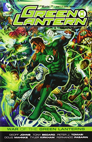 Green Lantern: War of the Green Lanterns (Green Lantern Graphic Novels (Paperback))