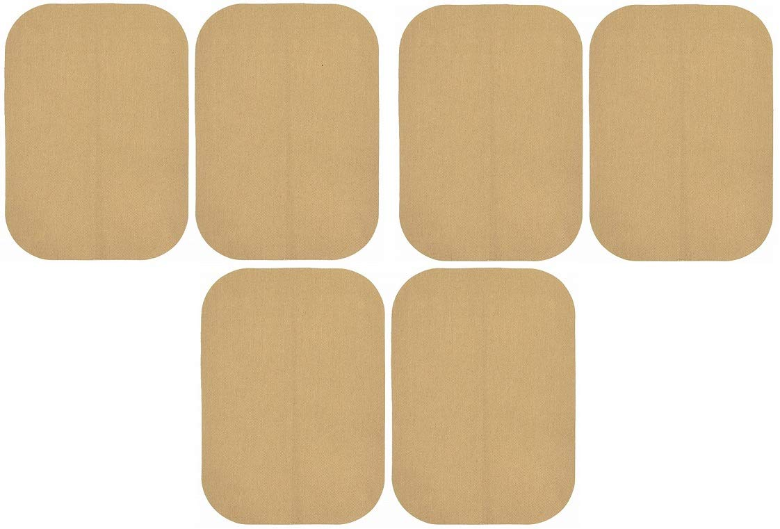 """Wrights-Bondex Iron On Patches 2 5X7/"""" Fabric Patches 2 Pack"""