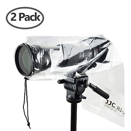 JJC 2pcs Poncho impermeable de lluvia escudo protector de pantalla ...