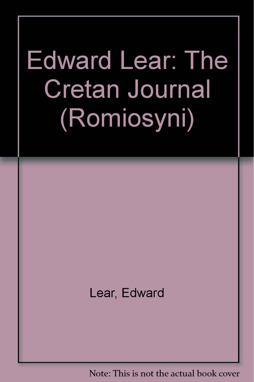 Edward Lear: The Cretan Journal (Romiosyni) pdf