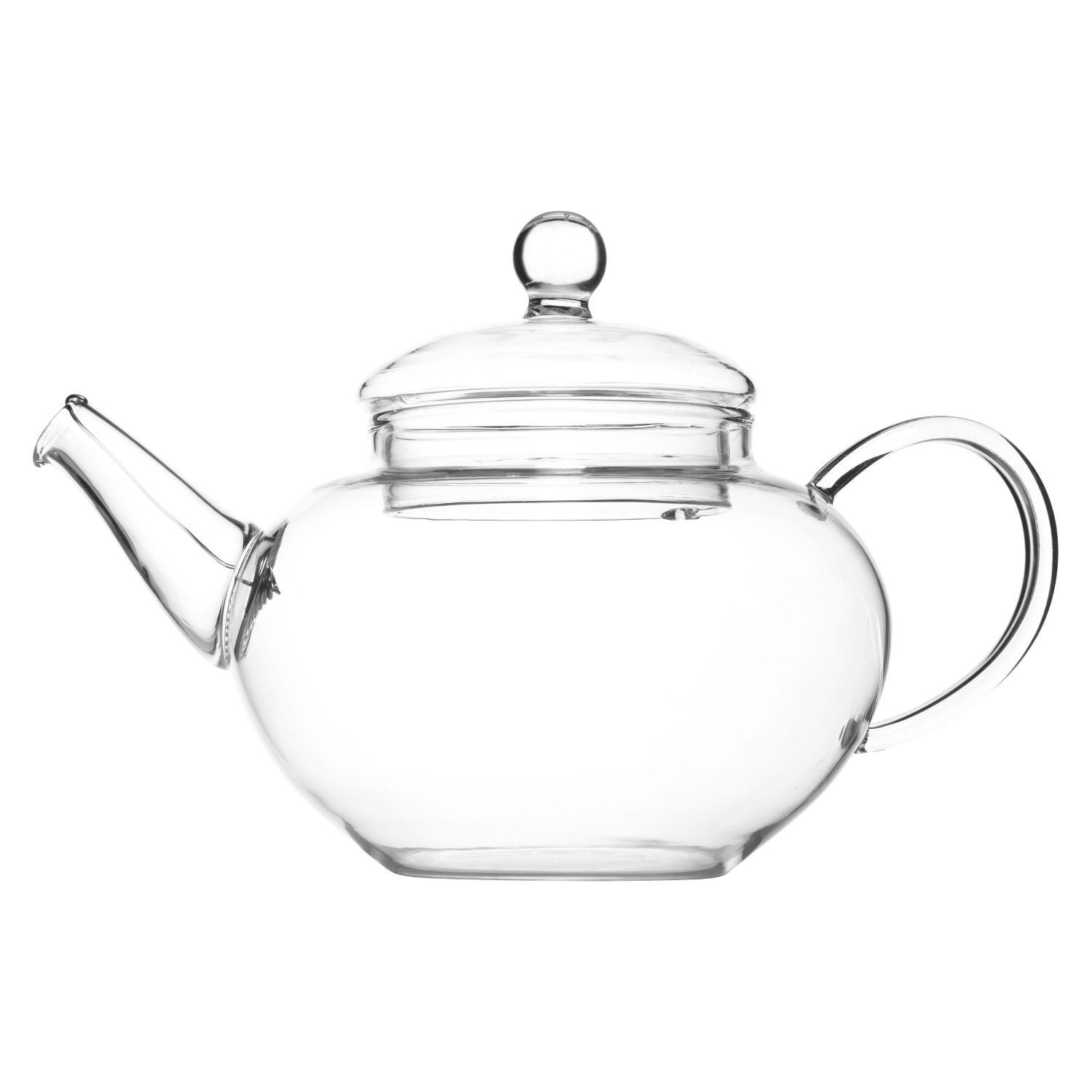 Glass Teapot & Wire Coil Filter - Devonshire - 350ml (For 1 Cup) - Chiswick Tea Co