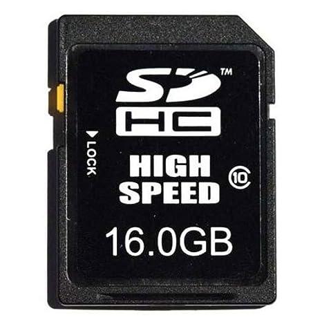 Nikon SDHC 16 GB Class 10 Memoria Flash Clase 10 - Tarjeta de ...