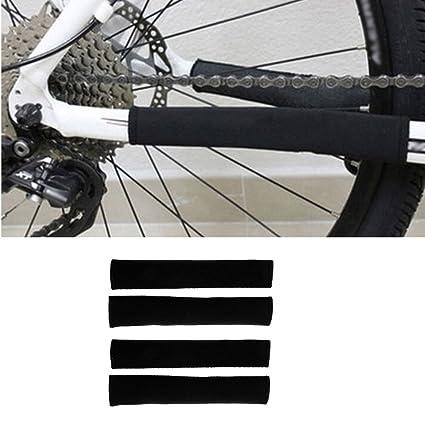 MagiDeal 4 St/ück Fahrrad Kettenschutz Staubdicht Radfahren Ausr/üstung 21 x 10 cm