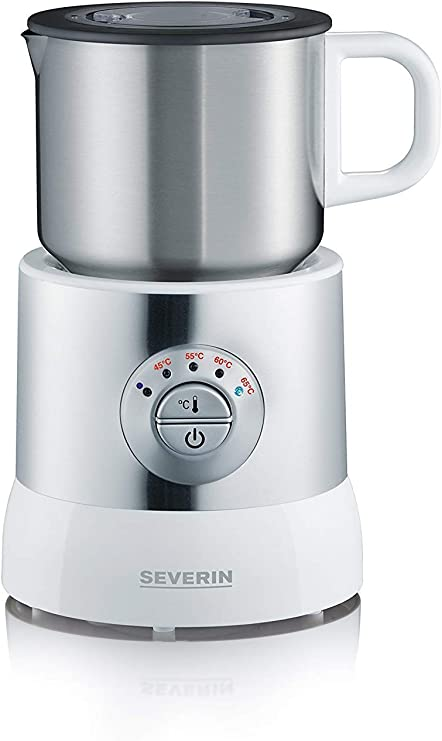 SEVERIN Emulsionador de Leche, Calentador (Hasta 700 ml ...