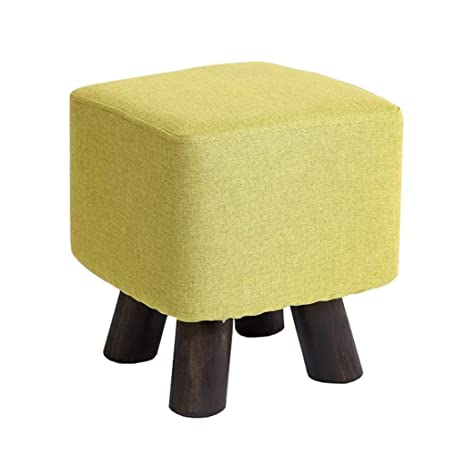 Wondrous Amazon Com Ttd Ottoman Pouffe Change Shoes Small Bench Squirreltailoven Fun Painted Chair Ideas Images Squirreltailovenorg