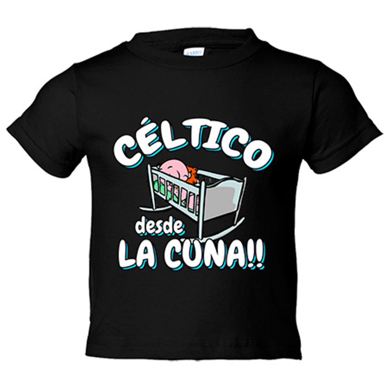Camiseta niño Céltico desde la cuna Celta Vigo fútbol - Azul Royal, 3-4 años: Amazon.es: Bebé
