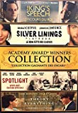 Academy Award Winners Collection (The King's Speech/Silver Linings Playbook/Spotlight/The Theory of Everything)