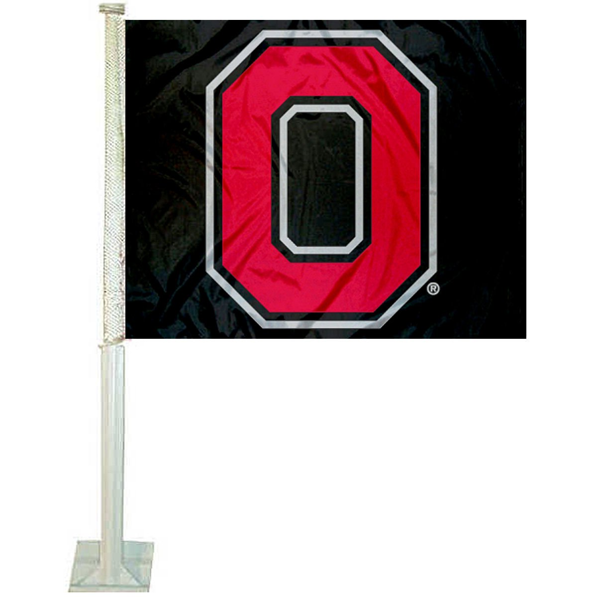 OSU Buckeyes Block O Car and Auto Flag College Flags and Banners Co.