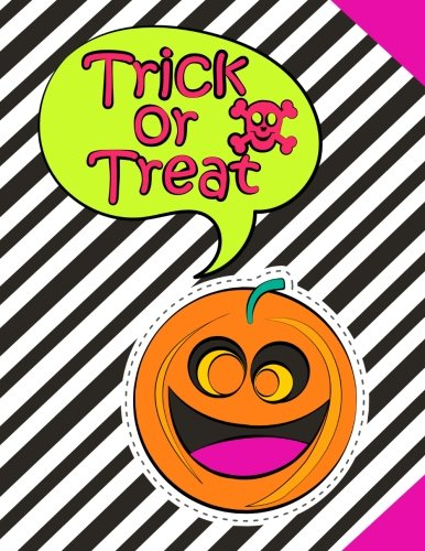 Primary Composition Notebook Journal For School Kids, Students and Teachers - Halloween: 120 Page Ruled Composition Notebook Journal For Halloween (Primary Journals) (Volume -