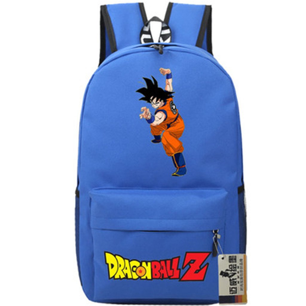 SiawaseyドラゴンボールZアニメGokuコスプレバックパックデイパックブックバッグラップトップバッグスクールバッグ   B07DGGV4C7