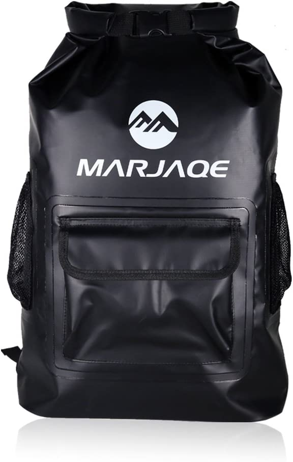 WildGrow 5-in-1 Waterproof Backpack 30L with Compression The Ultimate Sack for Camping, Travelling, Canoeing, Kayaking and Gifts for Adventurers