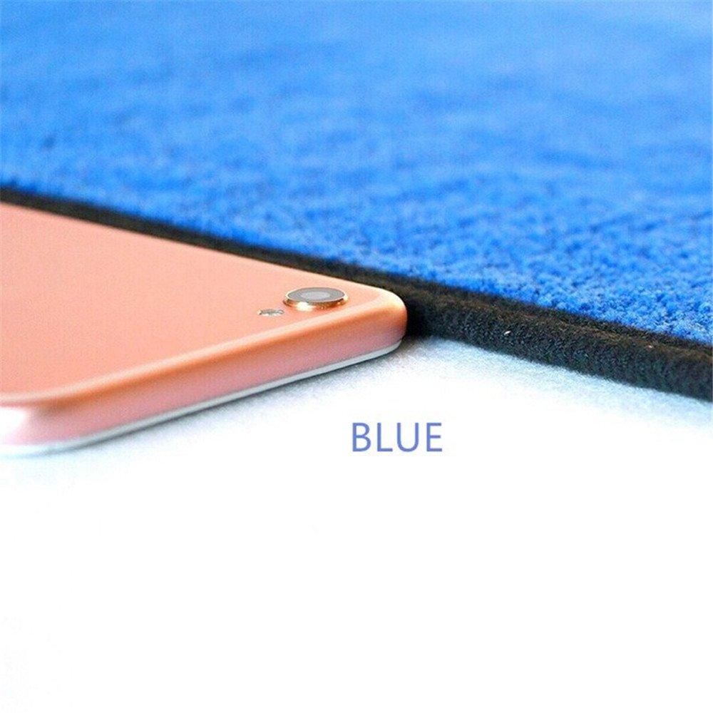 Roblue Serviettes Microfibre de Nettoyage Polissage de Voiture Ultra Epaisse S/échage Rapide 40x40cm