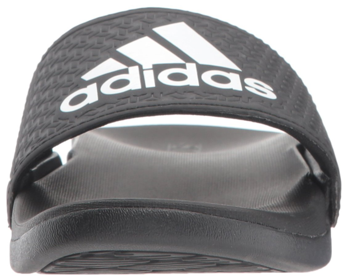 adidas Unisex-Kids Adilette Clf+ K Sandal,core black,White, core black,6 M US Big Kid by adidas (Image #4)