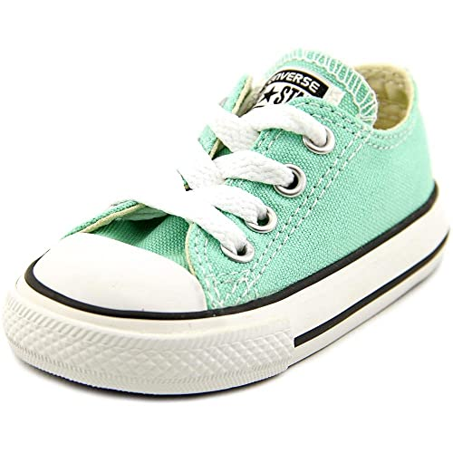 6ace8d1bf4eb0e Converse Ct Ox Baby Toddlers Fashion Sneakers Beach Glass Size  10 M US  Toddler