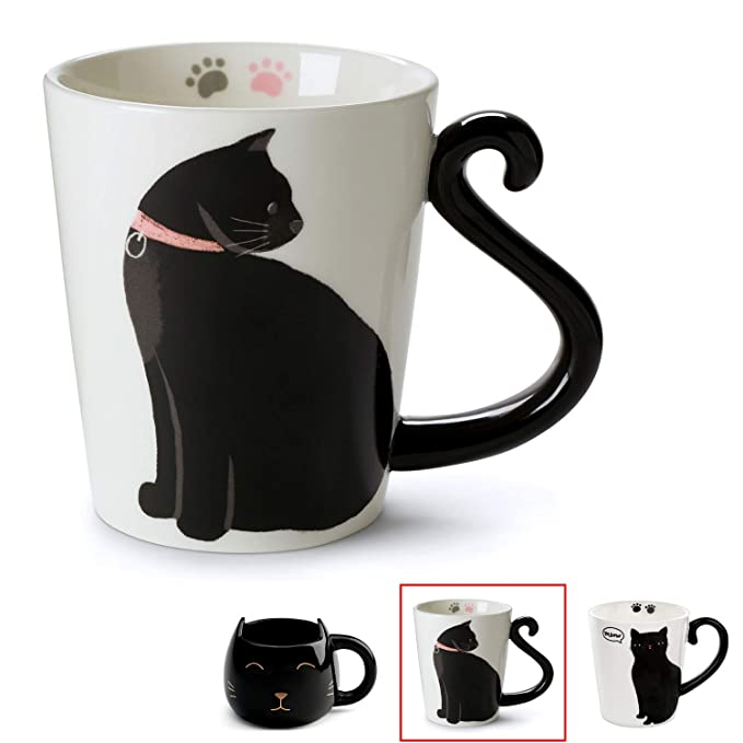 Amazon.com: Tazas para gatos., talla única : Kitchen & Dining