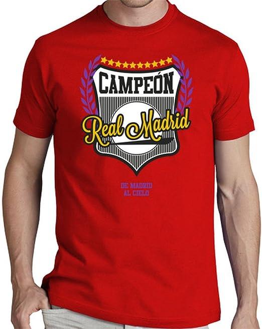 latostadora Camiseta Real Madrid - De Madrid al Cielo - Camiseta ...