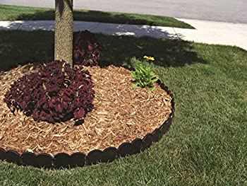 Valley View Vpi-20 Interlocking Decorative Edging Lawn, 20', Black 3