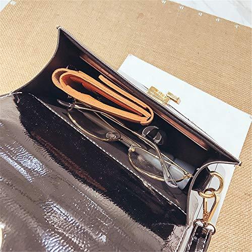 Colorate Righe Nero Multifunzionale Blu Donna Borsetta Casual Spalla In A Capacità Grande Xoxo Da colore Tessuto zq8ZFBww
