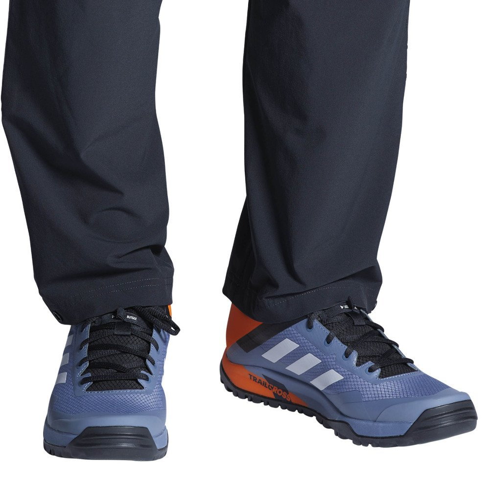 54dd839e54f Galleon - Adidas Outdoor Terrex Trail Cross SL Mountain Bike Shoe - Men s  Raw Steel Grey One Orange